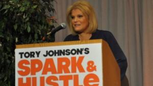 Tory Johnson Women for Hire Spark & Hustle Inpiration