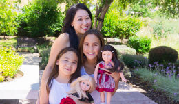 Tina Pang Mayer, PenPalGirls, Inc., The Story Exchange, Multi-cultural dolls, Toys