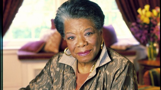 Dr. Maya Angelou by Dwight Carter