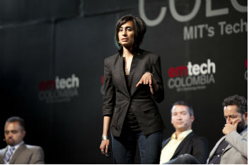 Shaherose Charania, the entrepreneur behind Founder Labs and Women 2.0
