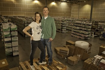 Laura and Doug Zander, founders of Jimmy Beans Wool