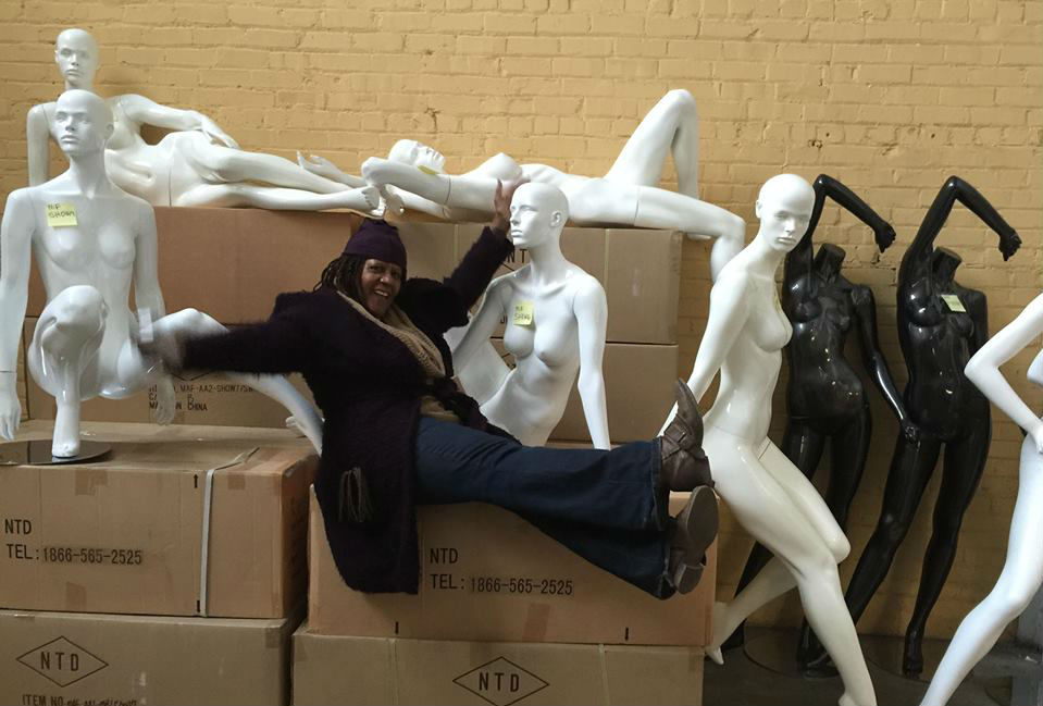 Judi Henderson-Townsend Mannequin Madness