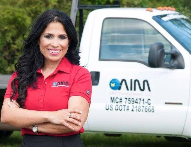Angelica Garcia-Dunn went from struggling to feed her kids to building a booming Texas-sized trucking company.
