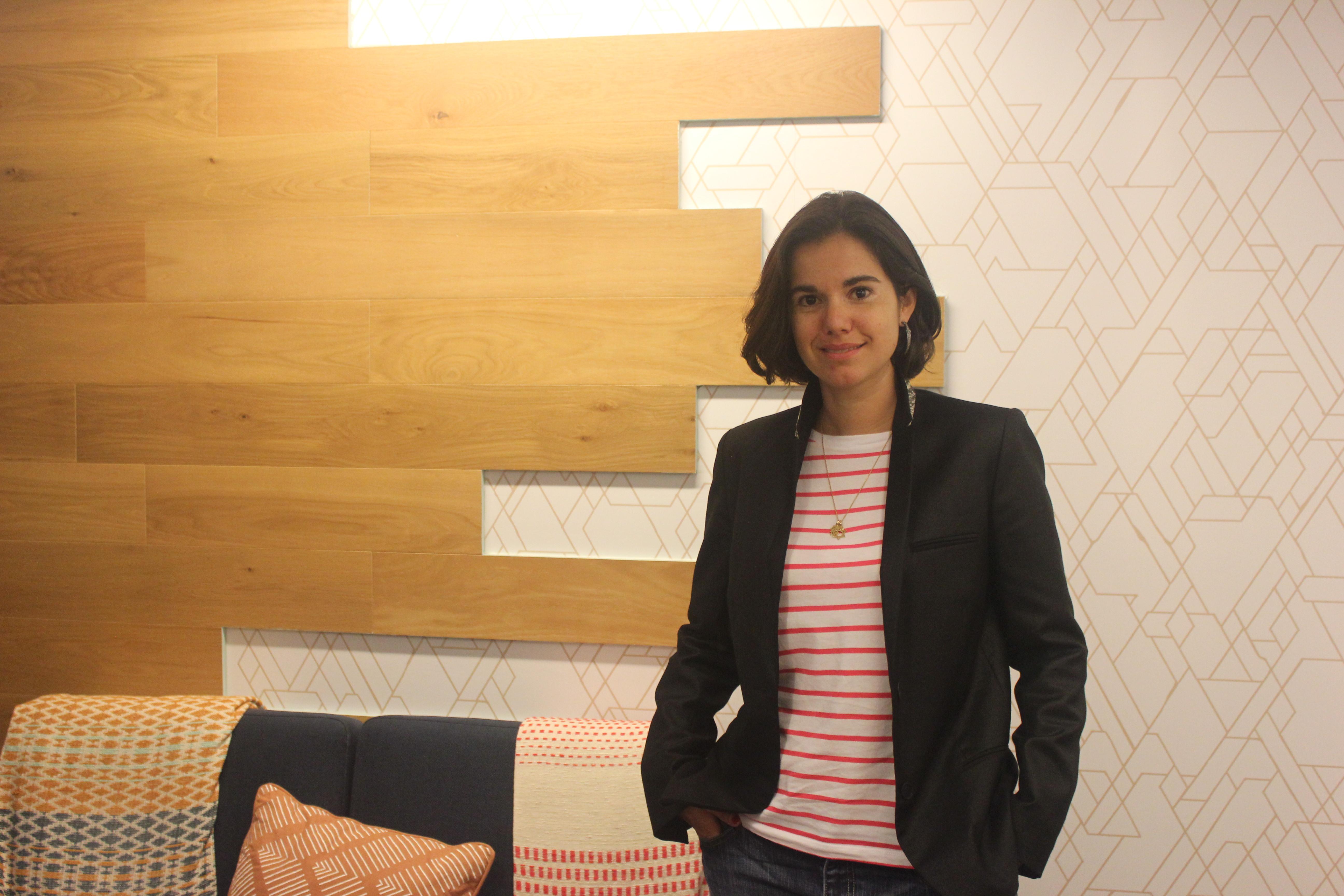 Karen Farzam of WHub in Hong Kong