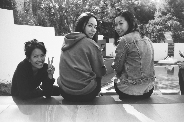 Gillian Wong, Lindsay Jang and Nicole Fung MISSBISH hong kong streetwear