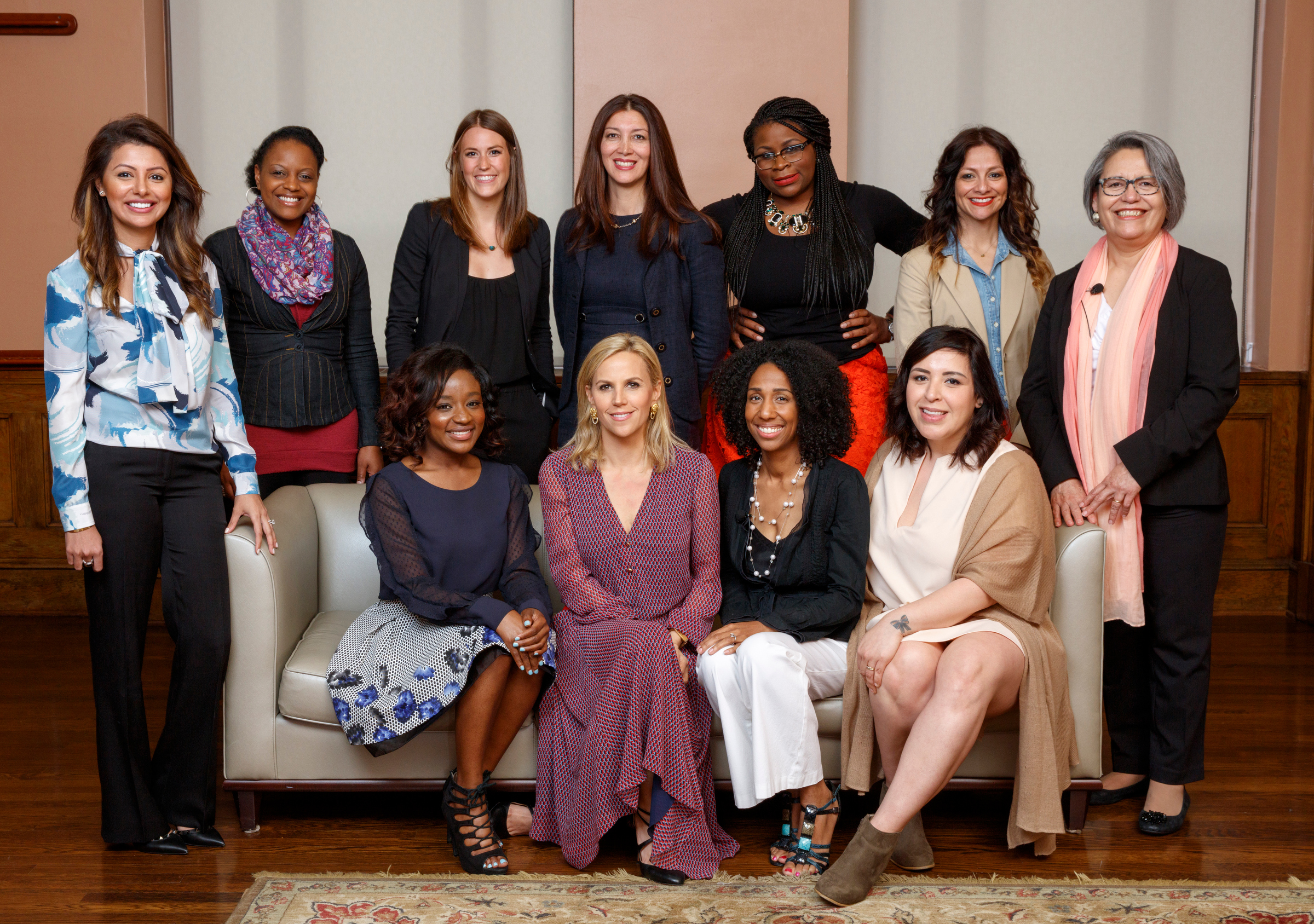 Tory Burch with women entrepreneurs in Texas that have participated in the Foundation's Capital Program powered by Bank of America