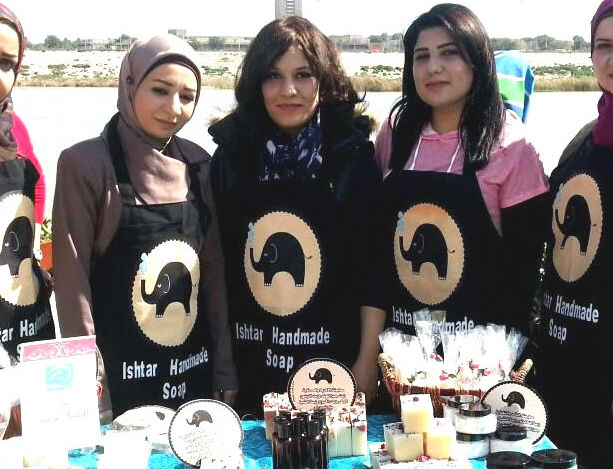 Zinah Saleh, Ishtar Handmade Soap, Handmade Soap in Iraq