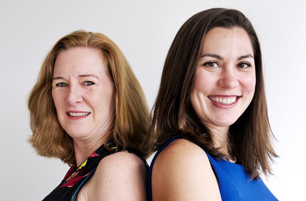Grit Labs Founders Jennifer Gill Roberts and Kelly Coyne