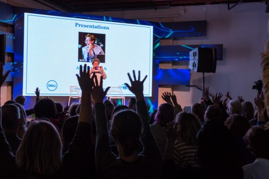Springboard Enterprises trains female founders through its online accelerator, and engages them through live events. (Credit: Springboard Enterprises on Flickr)