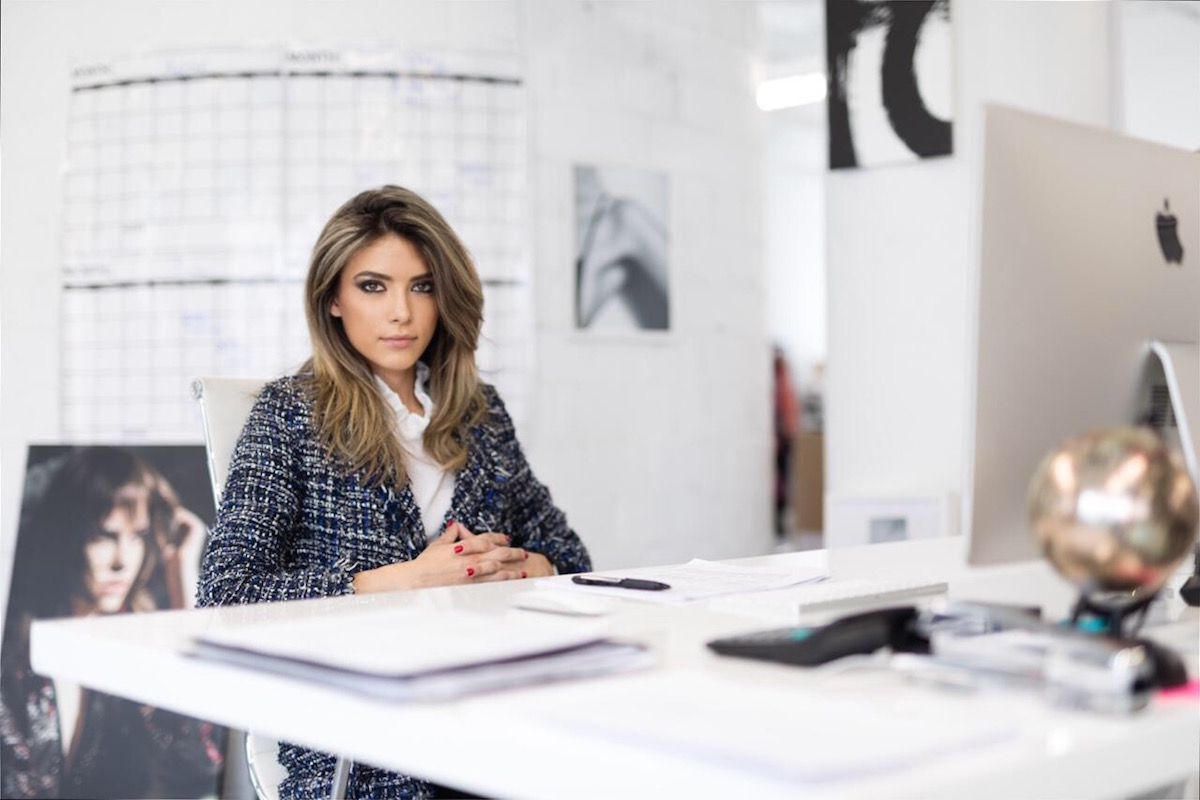 Immigrant entrepreneur Anna Metselitsa is growing successful ecommerce business Haute Rogue through sheer determination and online business smarts. (Credit: Haute Rogue)