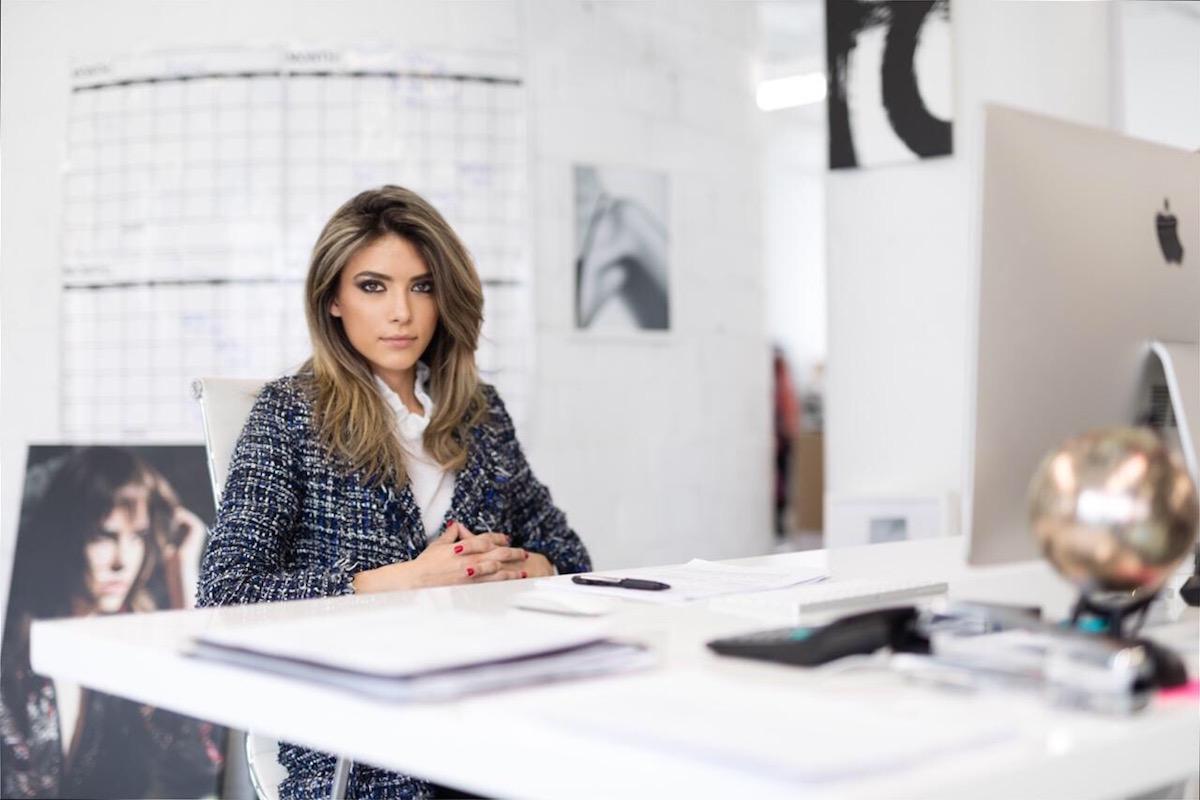 Immigrant entrepreneur Anna Metselitsa is growing successful fashion business Haute Rogue through sheer determination. (Credit: Haute Rogue)