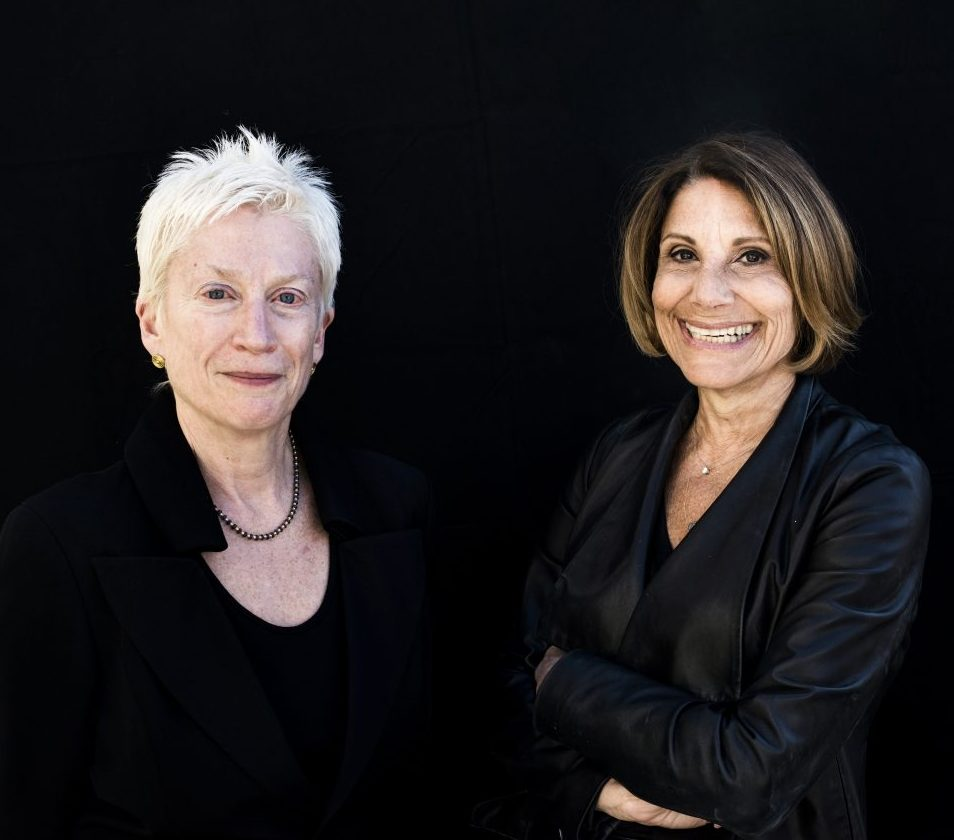 Karen Wagner and Erica Baird, founders of Lustre, a site dedicated to presenting an authentic image of modern retired women