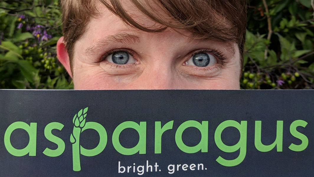 Jessica Johnson, the publisher of growing online magazine Asparagus, aims to expand into print. (Credit: Asparagus)