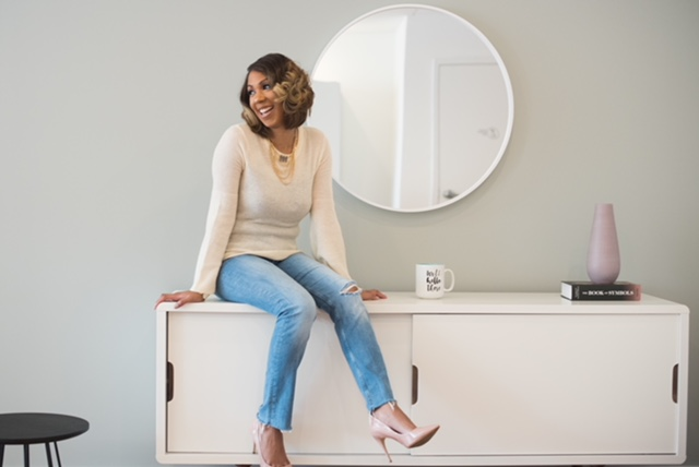 Amber Williams built branding consultancy Punkyflair to help startups, many of them run by black women entrepreneurs. (Credit: Ashleigh Bing Photography)