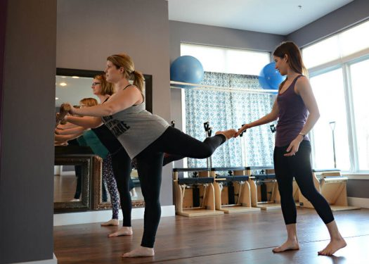 Entrepreneur Allison Zang has created an relaxing, empowering space for others -- women in particular. (Credit: Absolute Pilates)