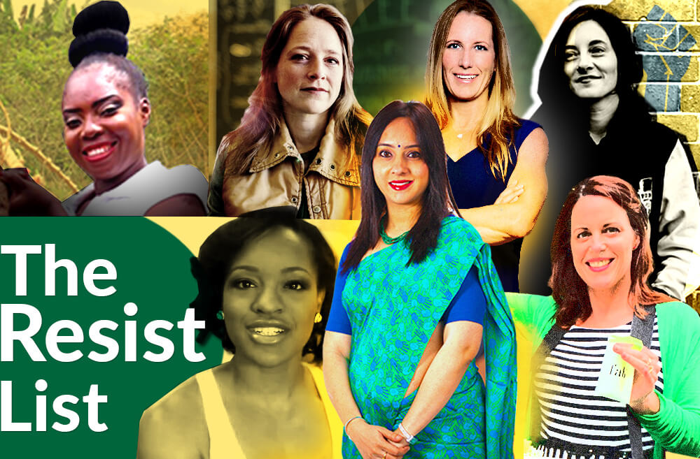 Announcing the The Story Exchange's 2018 Women Entrepreneurs Resist List