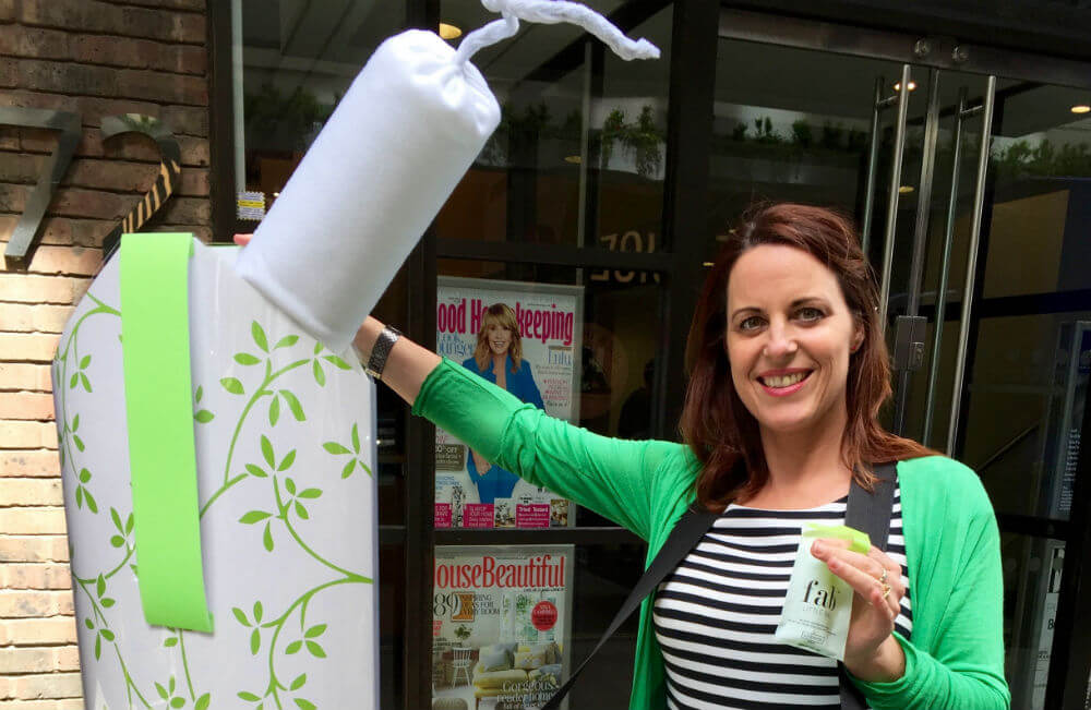 Martha Silcott started U.K.-based FabLittleBag to make throwing out pads and tampons easy, eco-friendly and angst-free -- and to liberate women from period taboos in the process. That's why we named her to our 2018 Resist List.