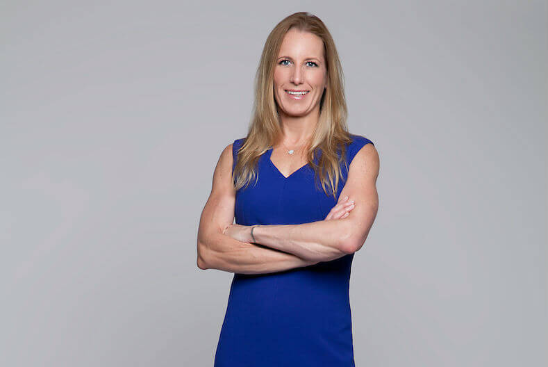 Kirsten Curry left the high seas to start Leading Retirement Solutions. (Credit: Leading Retirement Solutions)