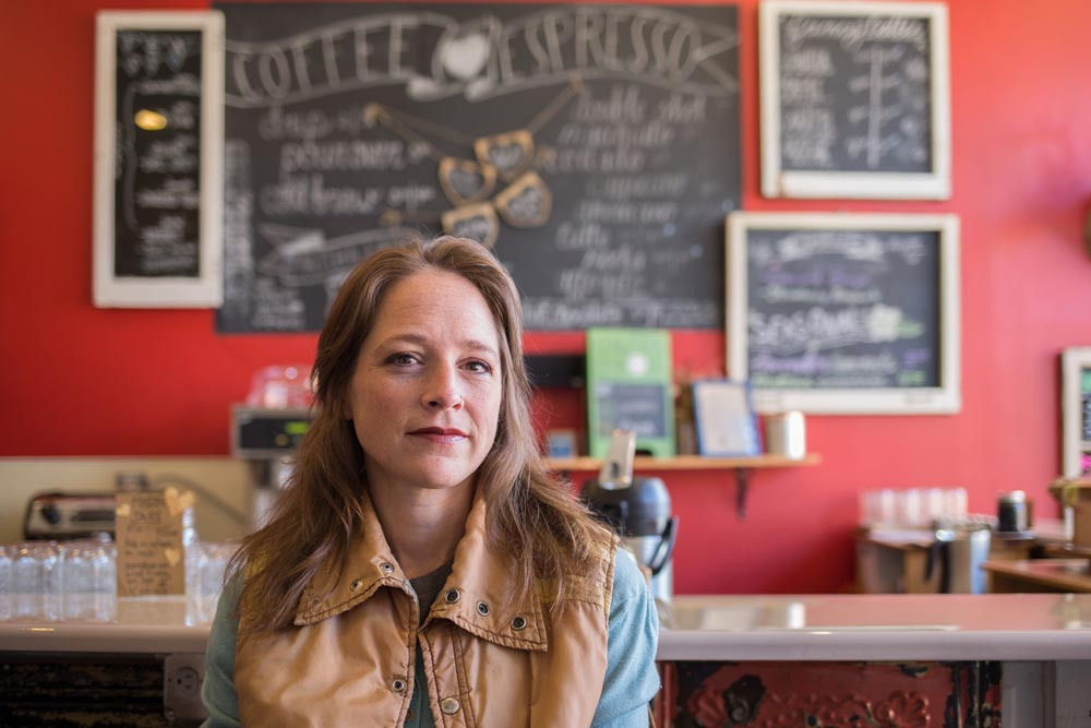 Sarah Walsh of Caffe d'Amore has taken steps to prevent workplace harassment to preserve her Pittsburgh community haven. Those moves put her on our 2018 Resist List.