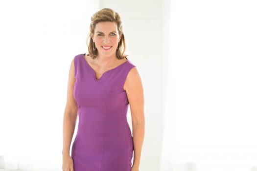 Serial entrepreneur Janet Kraus has grown her fashion business, Peach, through direct selling and brand ambassadorships. (Credit: Peach)