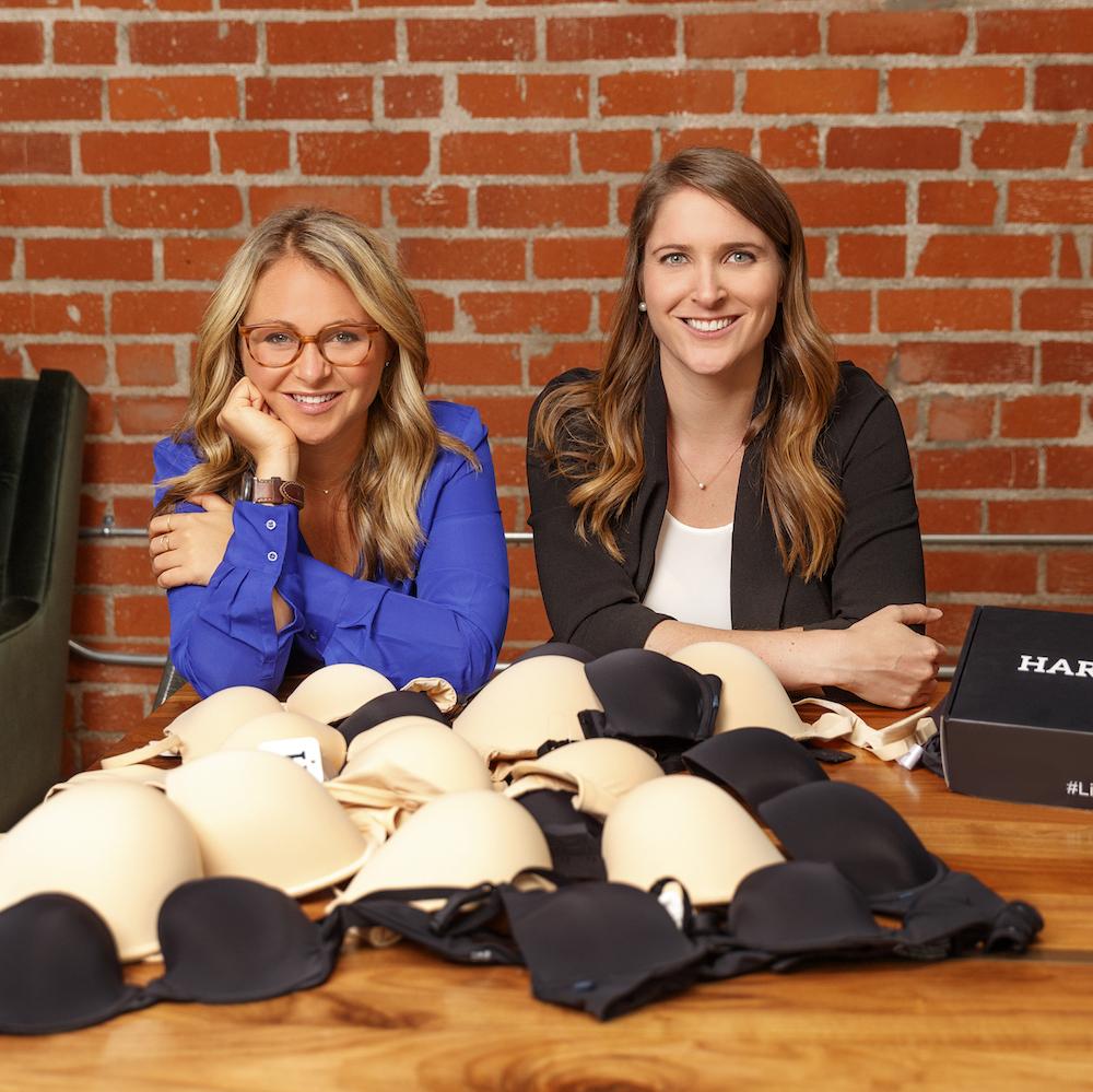 Jenna Kerner Jane Fisher Harper Wilde empowering women bra shopping home try on