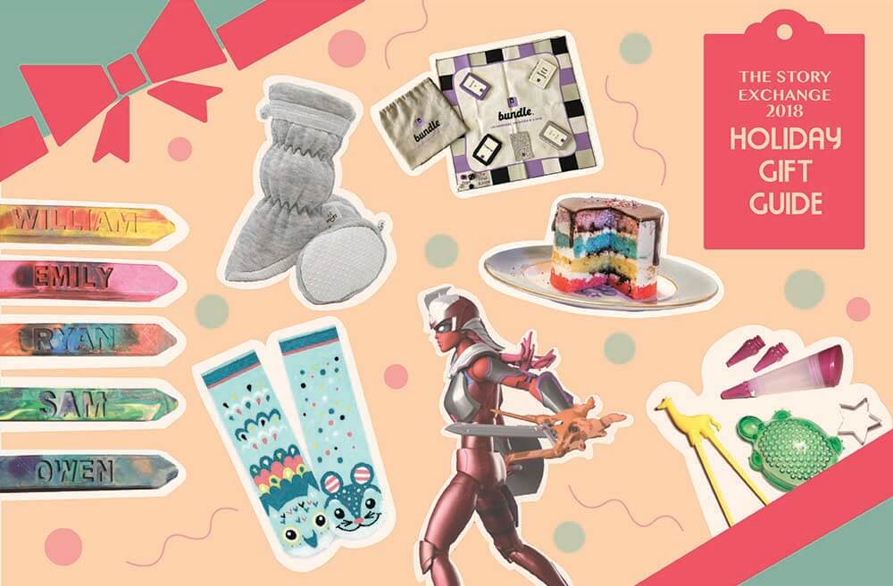 The Story Exchange 2018 Gift Guide - gifts for kids made by women entrepreneurs