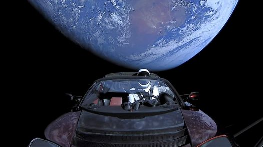 If you're making as much as Elon Musk, you can send a car into space to generate buzz for your biz. But if you're not - and we're guessing you're not - read on to see what you can learn from that and other publicity stunts pulled off by companies in 2018. (Credit: Wikimedia Commons)