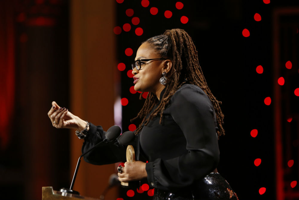 Director and activist Ava DuVernay is hosting the third annual Day of Racial Healing, which will feature fellow women leaders Eva Longoria and Stacey Abrams. (Credit: Peabody Awards, Flickr)