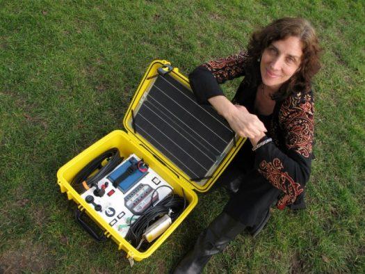Laura Stachel of We Care Solar.