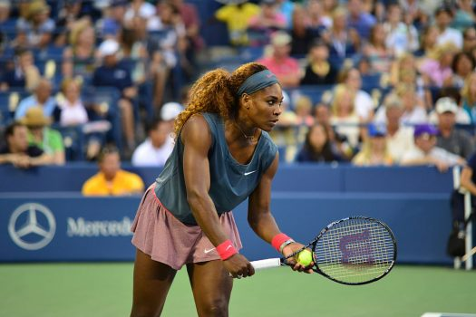 Serena Williams, in a new Bumble commercial, encourages women to take charge. (Credit: Wikimedia Commons)