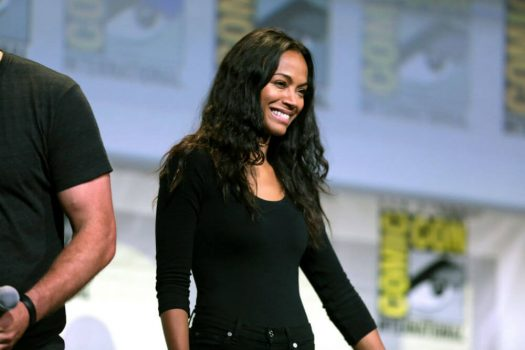 """Best known for her roles in """"Avatar,"""" """"Guardians of the Galaxy"""" and """"Star Trek,"""" actor Zoe Saldana certainly seems out of this world. But in real life, she's fighting the lack of diversity in mainstream media through BESE, her media company. (Credit: Gage Skidmore, Flickr)"""