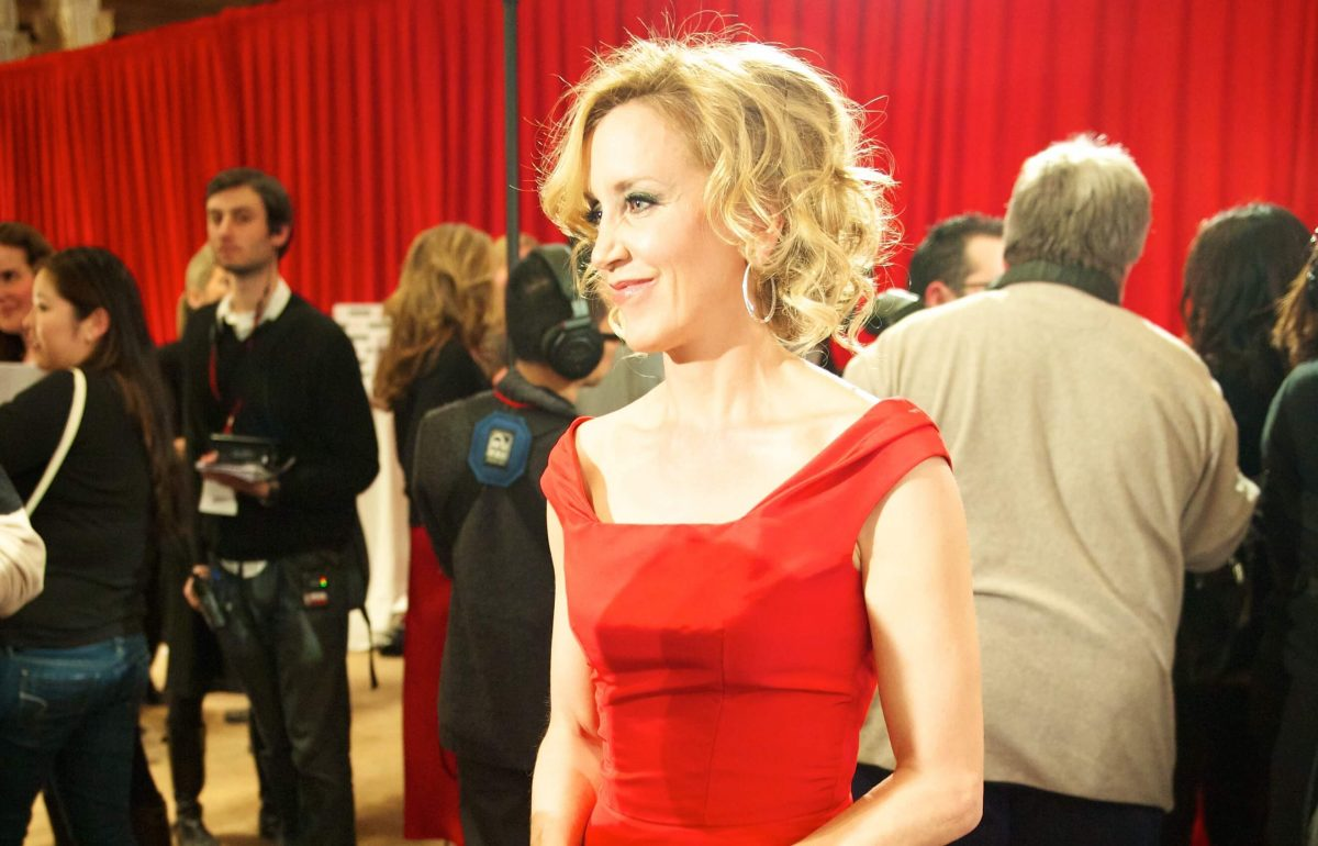 The actress Felicity Huffman, shown at a 2010 benefit, is one of the parents who will plead guilty to a federal crime, part of an investigation of college admissions fraud. (Credit: Flickr)