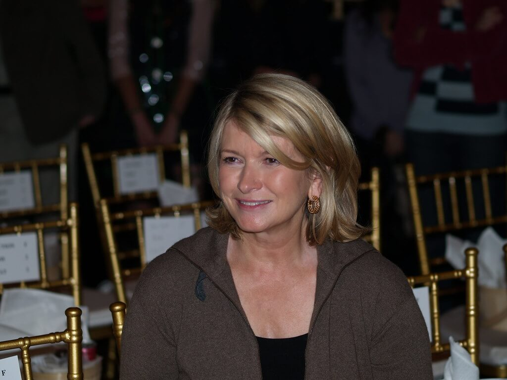Martha Stewart (Credit: Art Comment on Flickr)