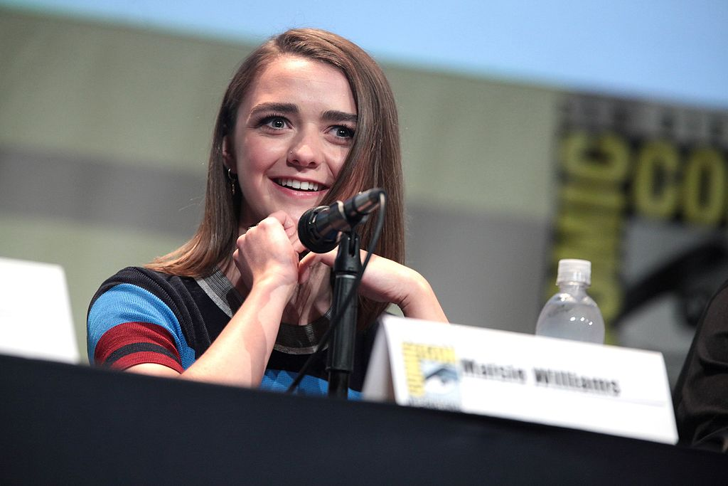 """Game of Thrones"" actress Maisie Williams recently co-launched an app, Daisie, that expands users' talent networks by connecting them via a social network. (Credit: Wikimedia Commons)"