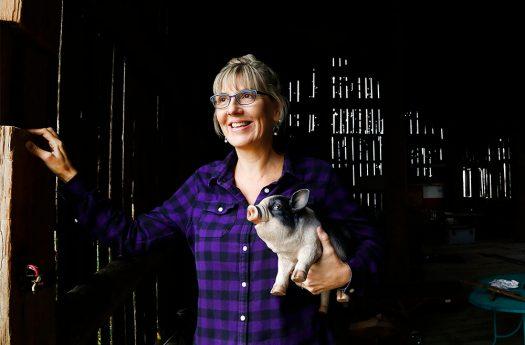 Leslie Bradford-Scott started Walton Wood Farm in her kitchen.