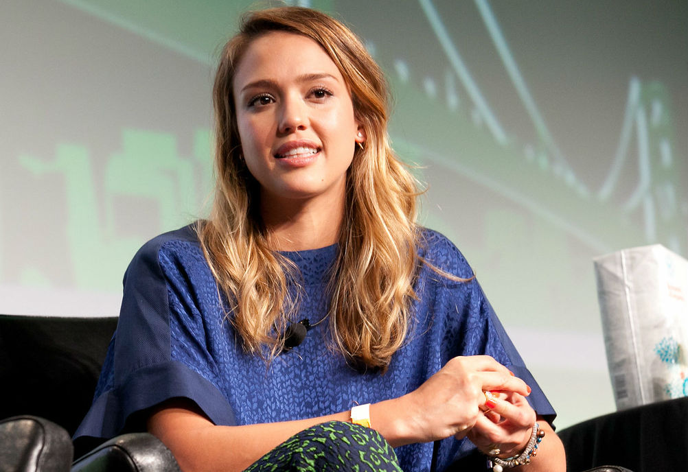 """Every five years, I feel like I'm a completely different person,"" says Honest Company's famous female founder, Jessica Alba. (Credit: Wikimedia Commons)"