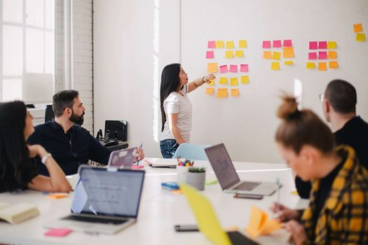 Coming up with a new business idea can be stressful, but you don't have to pull your hair out -- there are ways to keep your creative juices flowing. (Credit: Unsplash)