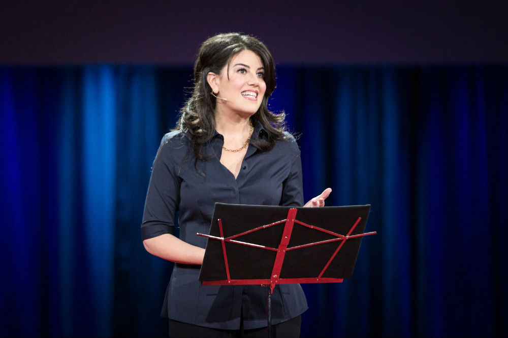 It's been a long road for Monica Lewinsky. But over time, she appears to have found strength and clarity in using her voice to speak out. We've detailed some takeaways from her journey. (Credit: TED Conference, Flickr)