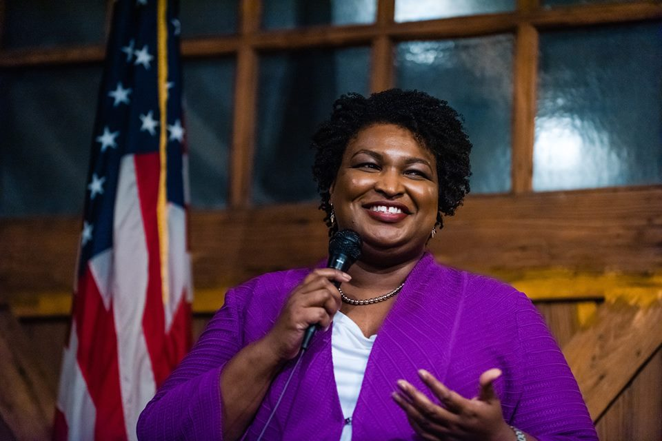 The former Georgia legislator and candidate for governor is expanding her campaign to make voting easier for all through her new national project, Fair Fight 2020. (Credit: Stacey Abrams' Facebook page)