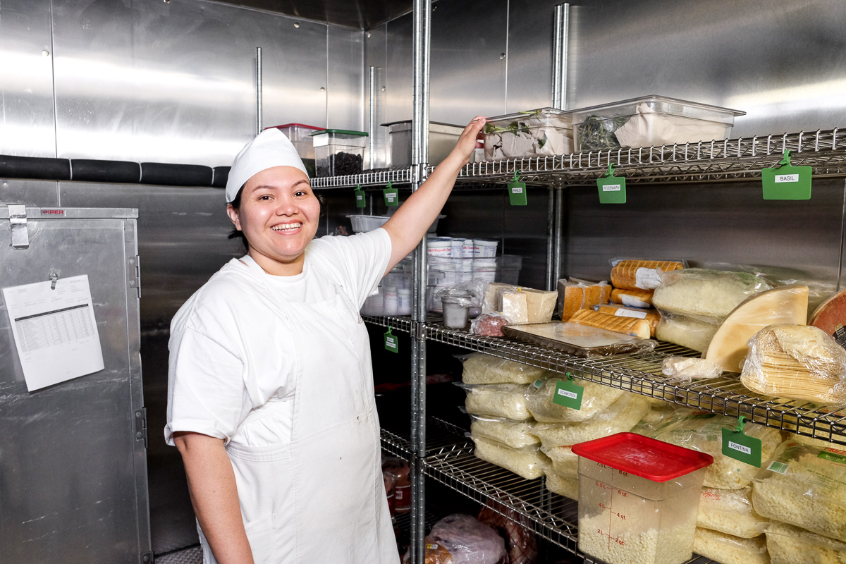 Beatriz Rosales Lopez, who came to America from Costa Rica in 2009, says she has found much more than a paycheck after graduating from Hot Bread Kitchen's culinary training program. (Credit: Hot Bread Kitchen)