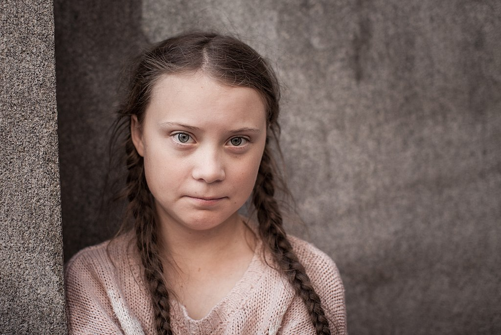 Climate change activist Greta Thunberg was named Time magazine's 2019 Person of the Year. (Credit: Wikimedia Commons)