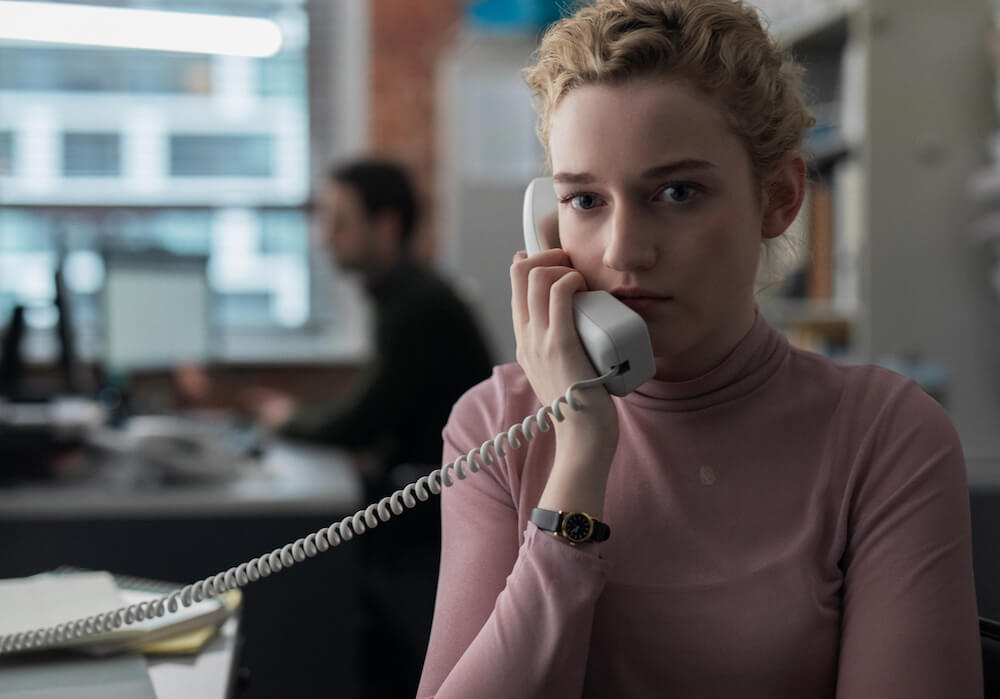 "Julia Garner stars in Kitty Green's new film, ""The Assistant."" (Bleecker Street Media)"