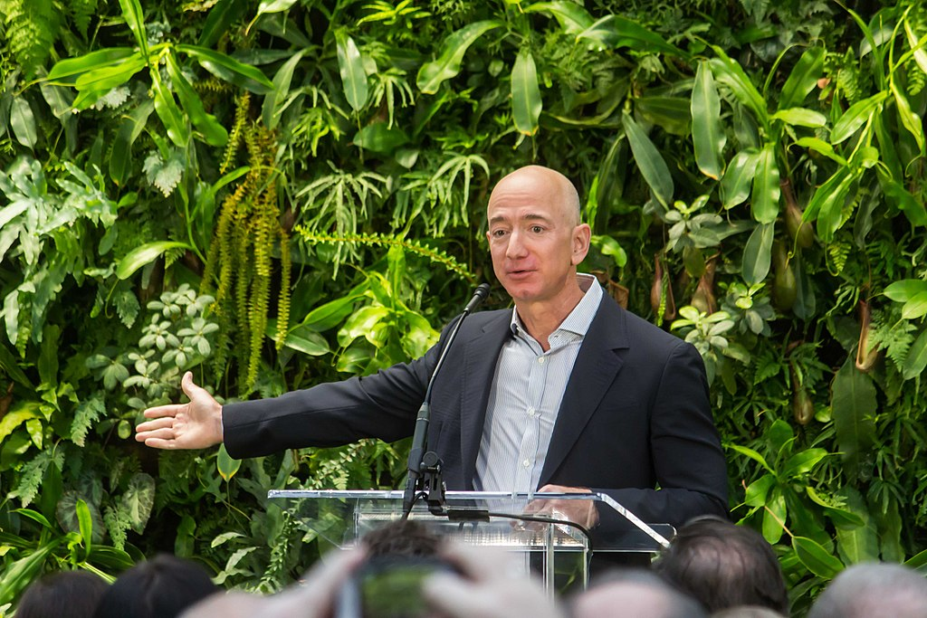 Amazon CEO Jeff Bezos' contribution to relief efforts in Australia leaves something to be desired - namely, more money. We turn to women social entrepreneurs for reminders of what charitable giving can really look like. (Credit: Wikimedia Commons)