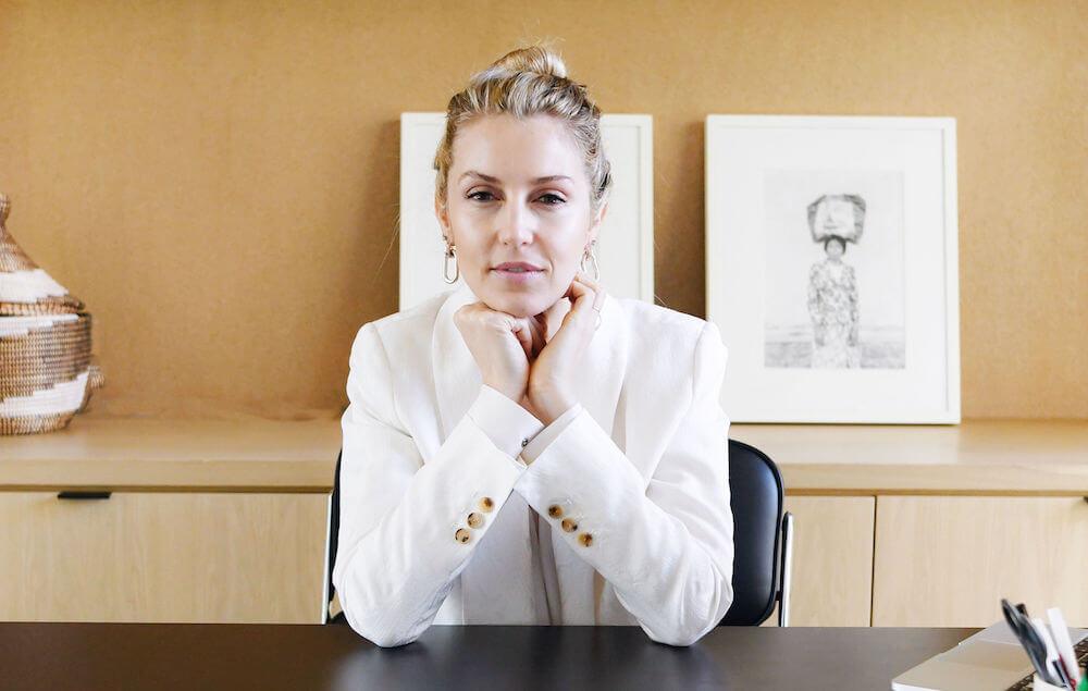 Ashley Merrill founded Lunya, a modern sleepwear company. (Credit: Lunya)