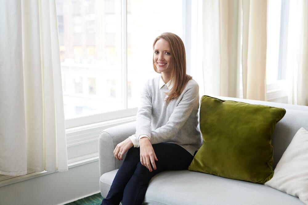 Kate Ryder founded women's healthcare startup Maven. (Credit: Maven)