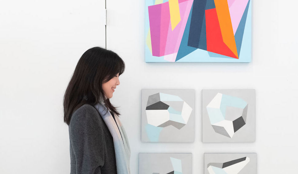 Mio Asatani is the founder of Curina, a new art subscription service. (Credit: Curina)