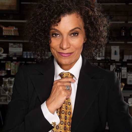 Simply Pure founder Wanda James is the first African-American woman to own a cannabis dispensary. (Credit: Simply Pure Facebook page)