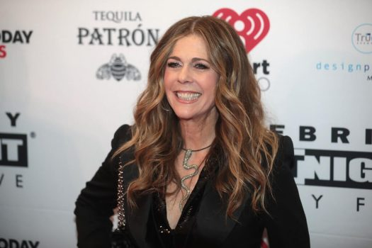 """Rita Wilson crowdsourced song suggestions for a new """"Quarantunes"""" playlist. (Credit: Wikimedia Commons)"""