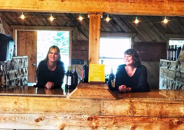 It's anxious times for Michelle Schurg and Alexandra Black, who run Blush + Bloom Events in Montana.