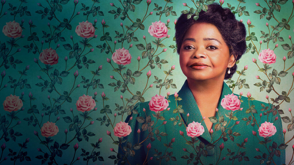 "Octavia Spencer stars in ""Self Made: Inspired by the Life of Madam C.J. Walker"" on Netflix. (Credit: Netflix)"